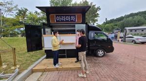 함안군, 무진정・박물관・봉성저수지 푸드트럭 본격 운영